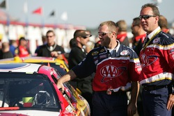 AAA Ford crew members at tech inspection