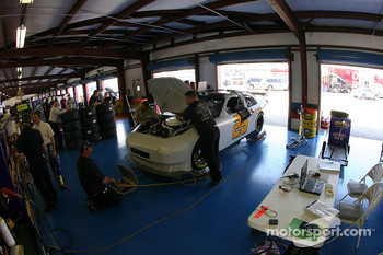 Roush garage area