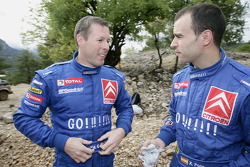 Colin McRae and Xavier Pons