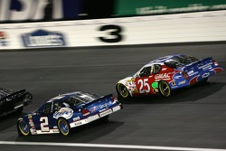Kurt Busch and Brian Vickers