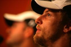 Lucky Strike PR day: Jenson Button and Rubens Barrichello