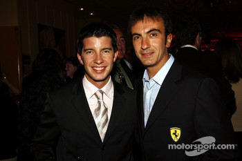 Mike Rockenfeller and Andrea Bertolini