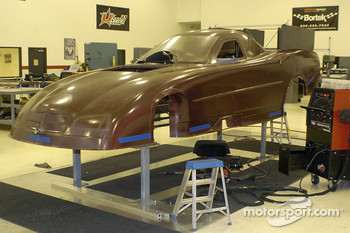 The body being assembled at DSR Headquarters in Indianapolis back in May