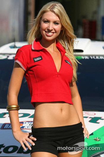 A lovely Rally Australia girl