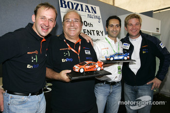 Bozian Racing celebrates Peugeot 307 WRC 100th WRC entry
