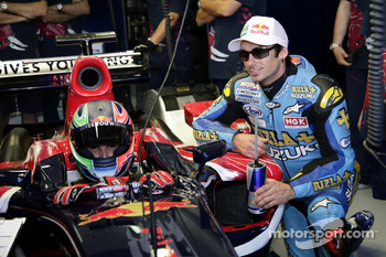 Vitantonio Liuzzi and John Hopkins
