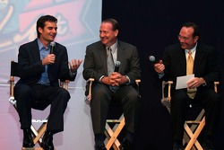 Jeff Gordon, Ken Schrader and Jerry Punch