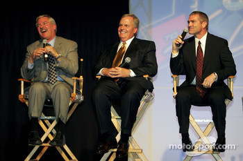 Terry Labonte, Rick Hendrick, and Bobby Labonte