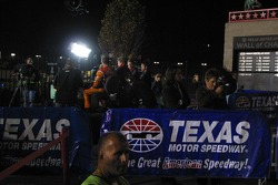 Televison set in Victory Lane