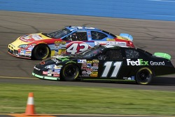 Denny Hamlin and Bobby Labonte