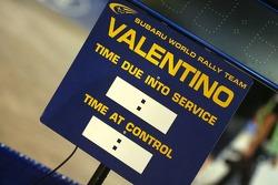 Board of Valentino Rossi