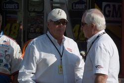 Rick Hendrick and Roger Penske