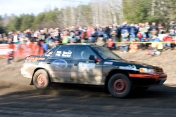 #30 2003 Subaru Impreza WRX: Frederic Beausoleil, Myriam Levert