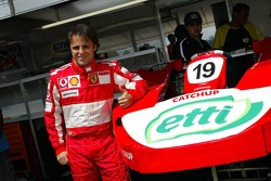 Pole winner Felipe Massa