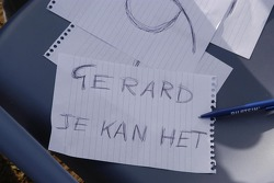 Team de Rooy presentation: message for Gerard de Rooy