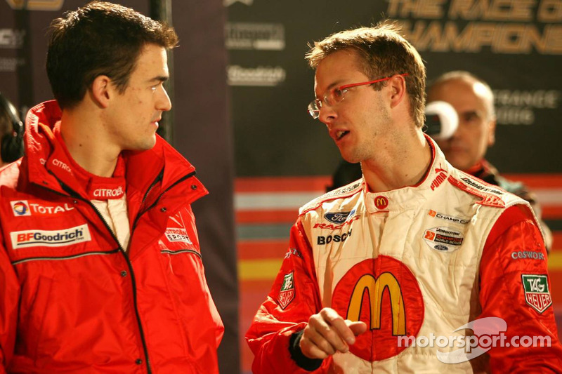 Sébastien Bourdais and Daniel Sordo