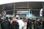 Fans arrive at Stade de France
