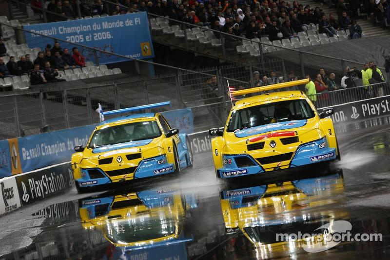 Final: Travis Pastrana and Heikki Kovalainen