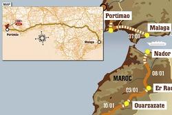 Stage 2: 2007-01-07, Portimão to Málaga