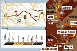 Stage 12: 2007-01-18, Ayoun - Kayes