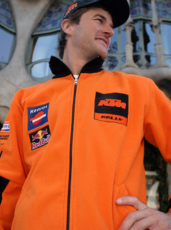 Team Repsol presentation in Barcelona: Marc Coma