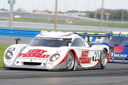 #23 Alex Job Racing Porsche Crawford: Patrick Long, Jorg Bergmeister, Romain Dumas