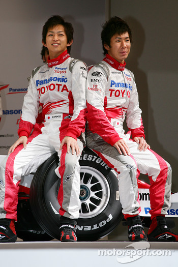 Kohei Hirate and Kamui Kobayashi
