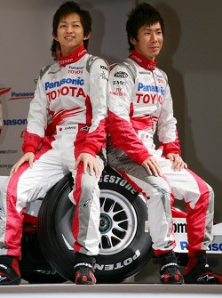 Kohei Hirate and Kamui Kobayashi
