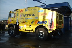 Loprais Tatra Team: Ales Loprais and Petr Gilar and Loprais Tatra Team on the way to Lisbon
