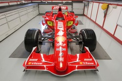 Preview of the new Ferrari F2007 in the Ferrari shop in Maranello