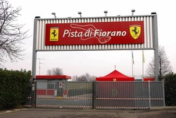 Fiorano Circuit entrance
