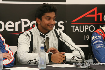 Press conference: Narain Karthikeyan