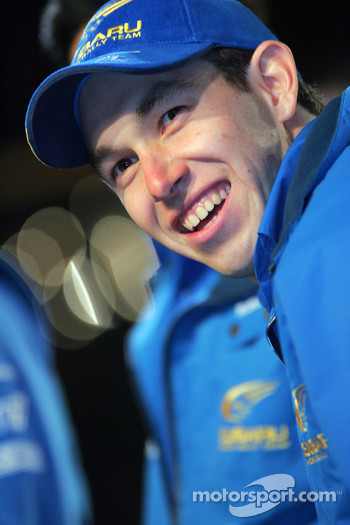 Subaru World Rally Team presentation: Chris Atkinson