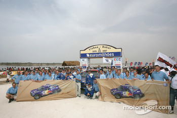Volkswagen Motorsport team