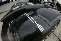 Detail of the Dyson Racing Porsche RS Spyder