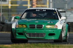 #21 Matt Connolly Motorsports BMW M3: Matt Connolly, Romeo Kapudija, Jason Workman