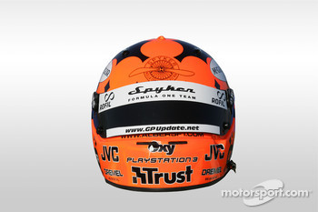 Helmet of Christijan Albers