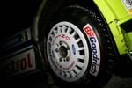 studded tire of Marcus Gronholm and Timo Rautiainen