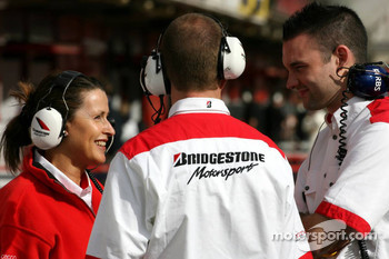 Bridgestone Motorsport technicians