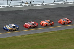 Michael Waltrip, Dale Earnhardt Jr., Tony Stewart, Jeff Burton