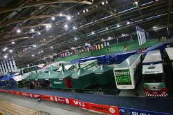 WRC Service Park