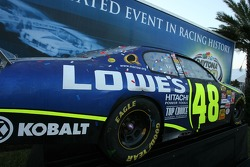 The 2006 Daytona 500 winning Lowe's Chevy of Jimmie Johnson