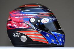 Red Bull Racing and Scuderia Toro Rosso photoshoot: helmet of Scott Speed