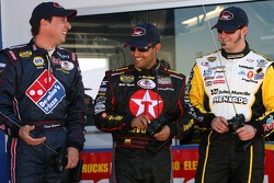 Raybestos Rookie RC Challenge 2007: rookie of the year contenders David Reutimann, Juan Pablo Montoya and Paul Menard drive their RC cars