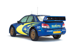 The new Subaru Impreza WRC2007