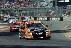 Rick Kelly grabbed the lead from brother Todd Kelly