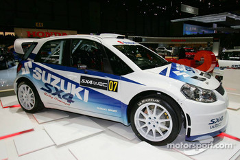 Suzuki SX4 WRC Car for the World Rally Championship in 2008