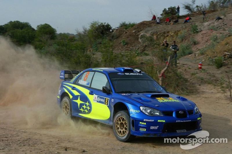 Chris Atkinson and Glenn MacNeall, Subaru WRT Subaru Impreza 2007 WRC