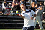 Formula One drivers charity tennis match: Rubens Barrichello, Honda F1 Team