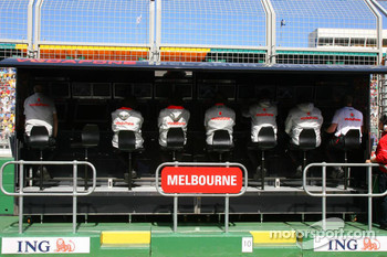 McLaren Mercedes, Pit Gantry